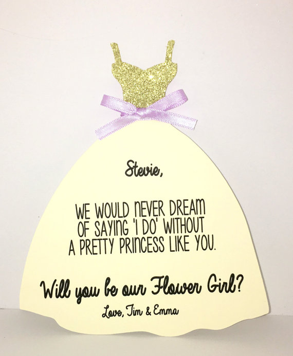 Custom Color Name Will You Be My Bridesmaid Maid Of Honor