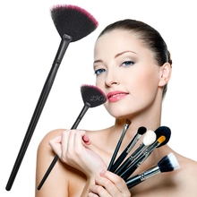 2017 Pro Fan Shape Makeup Cosmetic Brush Blending Highlighter Contour Face Powder  JUL25_46