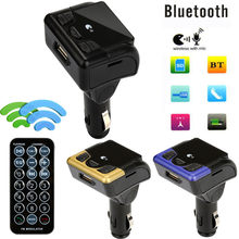 Coche Bluetooth transmisor inalámbrico de FM AUX adaptador de Radio MP3 Kit manos libres # @ Z(China)