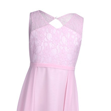 Lace Chiffon Girls Occasion Dresses