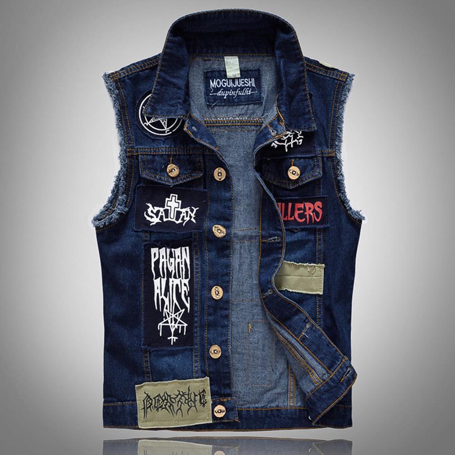 Online Get Cheap Mens Jean Jacket Vest -Aliexpress.com | Alibaba Group