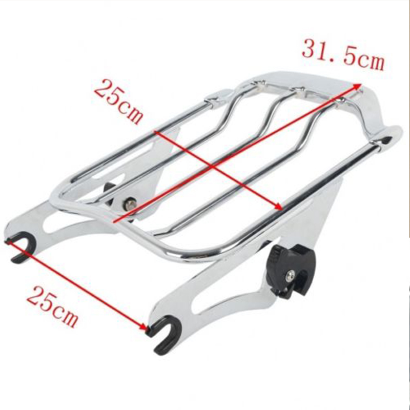Motorcycle Air Wing Luggage Rack or Docking Hardware For Harley Davidson Touring Street Glide Road King Road Glide CVO 2009 2018 in Covers Ornamental Mouldings from Automobiles Motorcycles