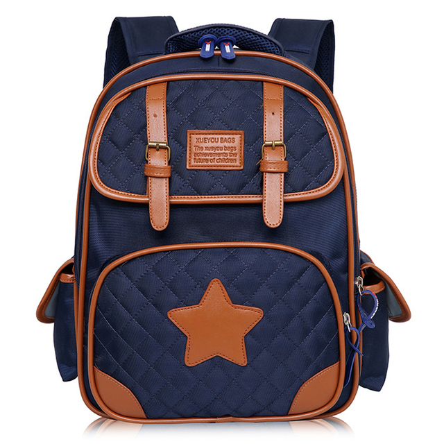 Retro Fashion Orthopedic Children Backpack Boys School Bags For Girls Schoolbag Shoulder Bag Mochila Teenagers Kids Satchel Gift