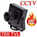 "High Quality Cheap HD 700TVL Mini Camera 1/3"" Sensor 2.1mm MTV Lens CCTV Video FPV Color Camera Mini FPV Camera"