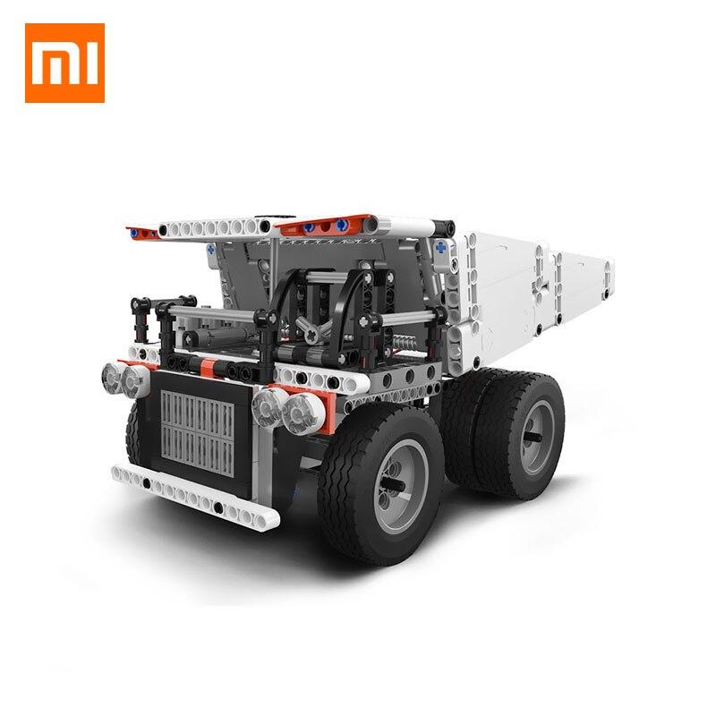 2018 nuevo Original Xiaomi Mitu de Robot de camión de mina para los niños de Control de volante basura ascensor inteligente de Control remoto