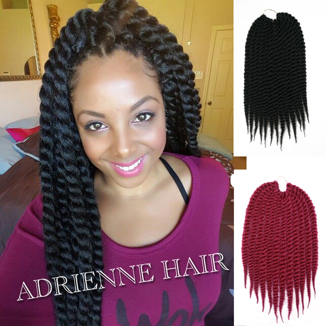 Long Micro Twisted Thin Small Senegalese Crochet Havana Twist Marley