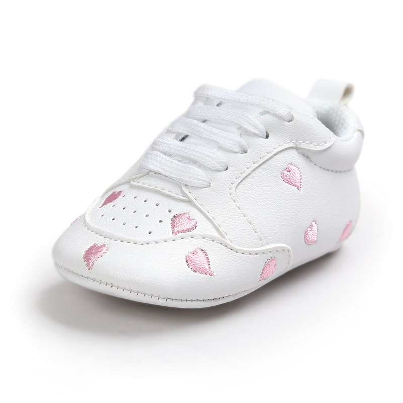 Summer Baby Toddler Infant Boy Girl Soft Sole Fashion Spring Autunn Kids Girl Boy Star Print Prewalker Crib Shoes 0-18 Month