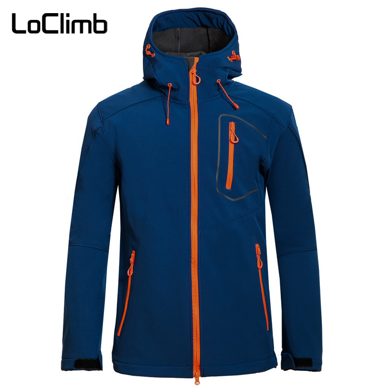 Men/'s Softshell  Waterproof Breathable Walking Hiking Fishing Jacket