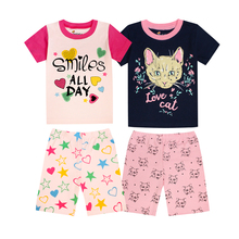 Kids Clothing-Sets Suits Pajamas Sleepwear Shorts T-Shirt Baby-Girls Boys Children TINOLULING