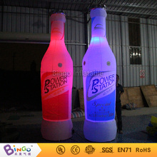 inflatable model toy inflatable beverage water barrel  3.5m inflatable soda wine bottle beer can with led lights for adversting