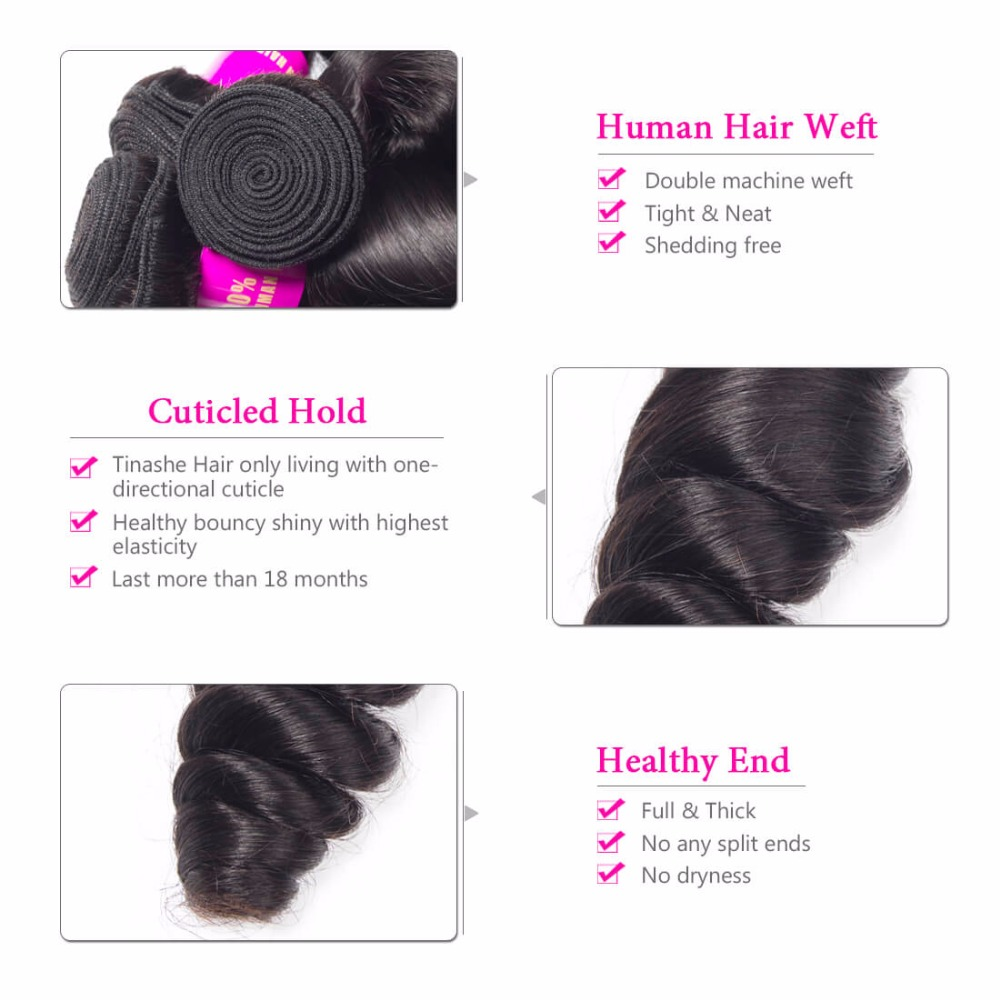 HTB167tXuhSYBuNjSsphq6zGvVXab Tinashe Hair Brazilian Hair Weave Bundles With Closure Remy Human Hair 3 Bundles With Closure Loose Wave Bundles With Closure