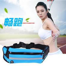 Купить с кэшбэком Outdoor exercise waist pack fitness  running waterproof breathable mobile phone tactical camping men and women travel bags