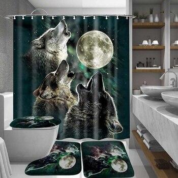 Bathroom Shower Curtain 2