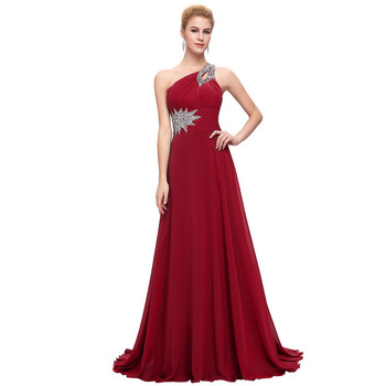 b6c00e80562c Mingli Tengda vestido de fiesta Vintage vestidos de dama de honor 2018  cuello en V vestido de dama ...