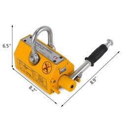 Industrial Magnetic steel plate Lifter 300KG Lifting Capacity Neodymium Magnet