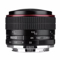 MEIKE MK 6.5mm F2.0 Fisheye Lens for Sony E mount Cameras A6000 A6300 A6500 A7 A7R A7S II