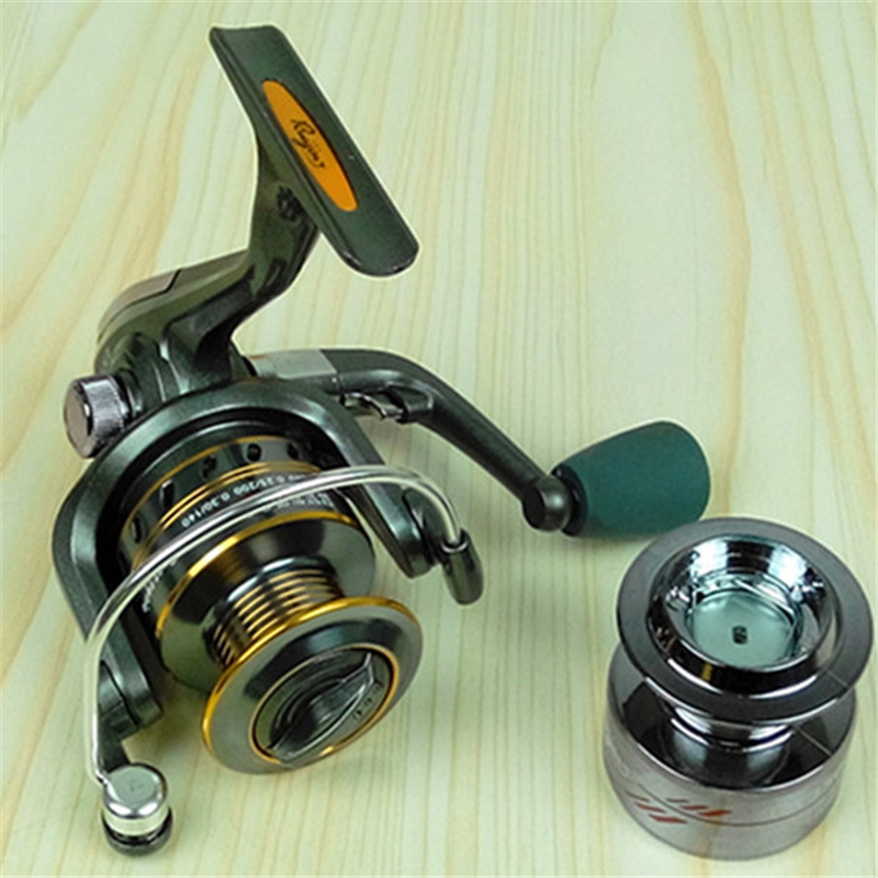 Ex2500 front Drag spinning reel 5 bearing metal line cup spinning wheel lure fishing reels plastic line cup ...