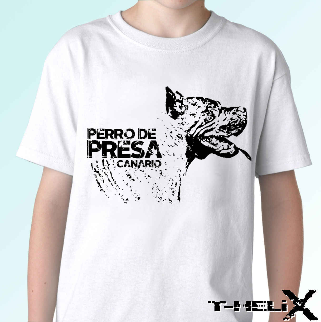 CANARY ISLANDS PERRO DE PRESA CANARIO T SHIRT TOP TEE DOG BREED DESIGN UNISEX