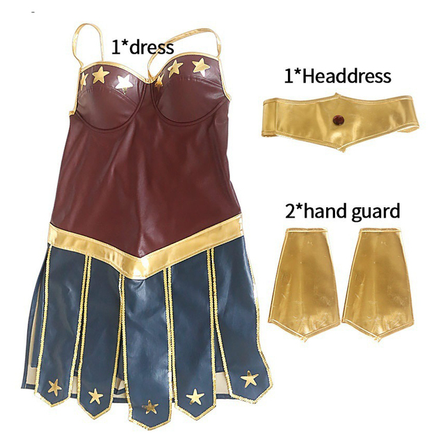 Women's Cosplay Bright Costume