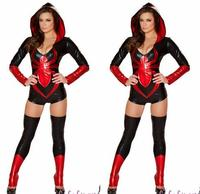 Free shipping Halloween Masquerade New Black Woman Spider Cosplay Costumes Masquerade Sexy Woman Super Hero Role Play Disfraces