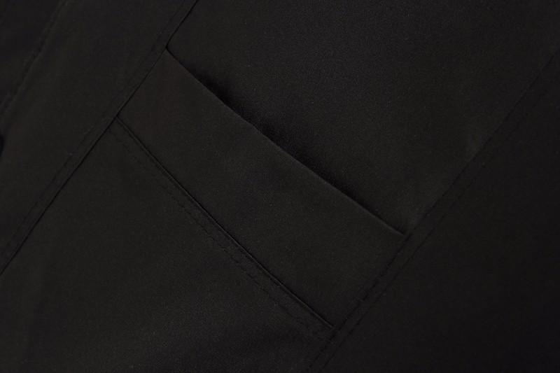 Man Elegant Herringbone Vest Elderly Men\'s Black Gilet Thicken Warm Fleece Vests Male Slim Fit Waistvest Sleeveless Coat XL 2XL (6)