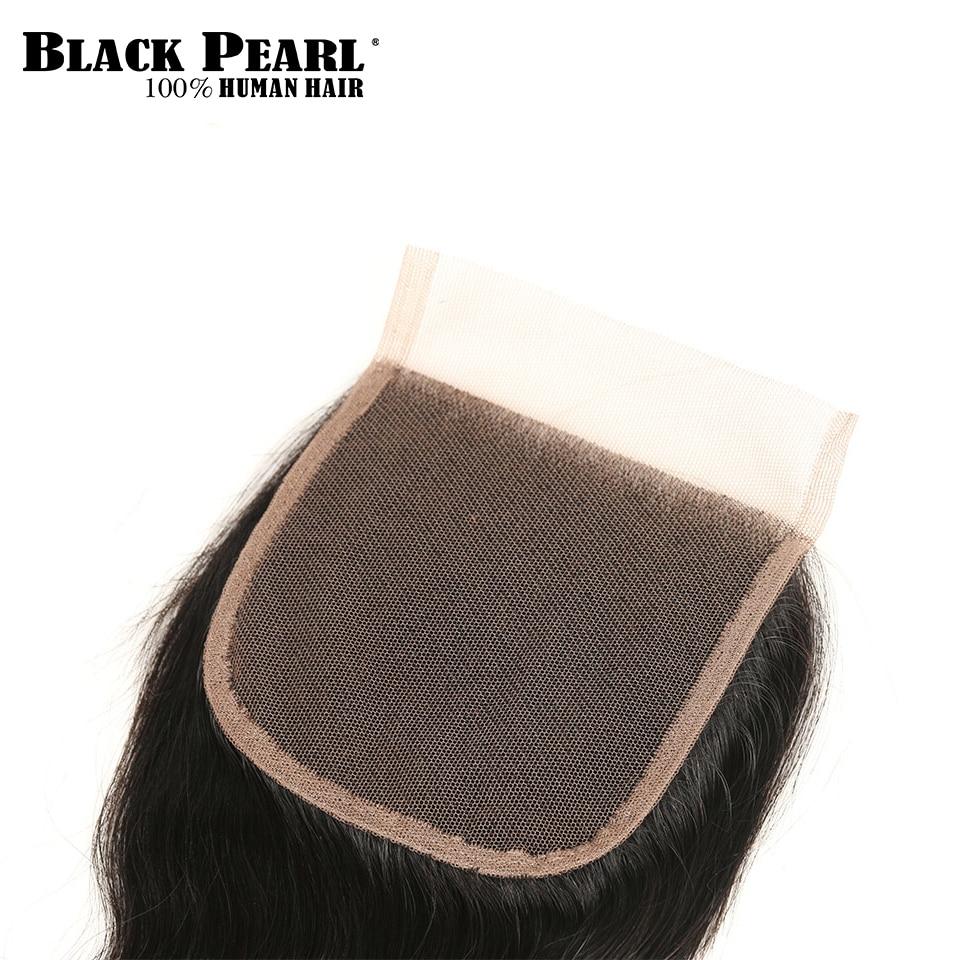 StyleIcon Pre-Colored Ombre Body Wave paquetes de cabello humano con - Cabello humano (negro) - foto 5