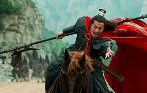 s1805 three kingdoms general lu bu single lance ax axe spear flayer