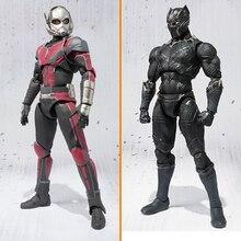 Guerre civile Captain America Noir Panthère Variante Action Figure 1 8  échelle peinte figure Variable b03f6cc0315