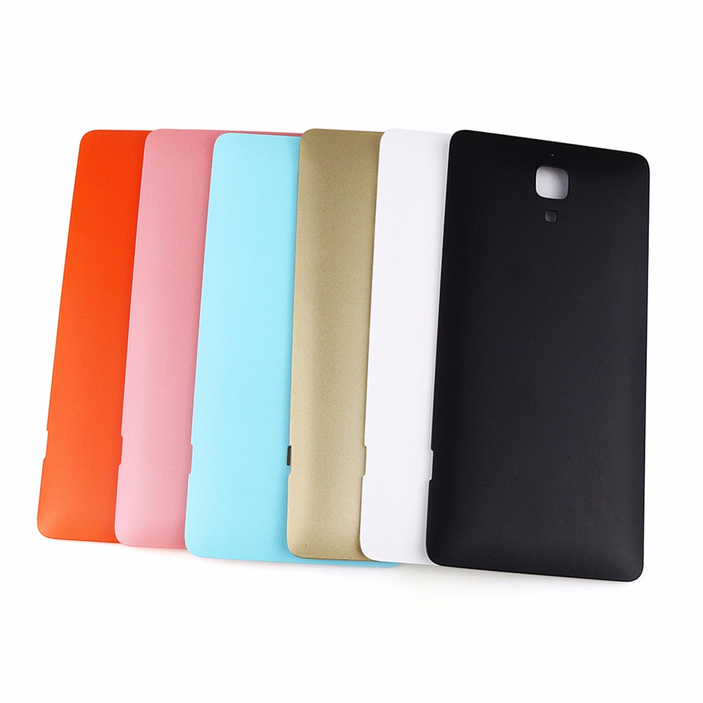 Phone Case for Xiaomi Mi4 Back Battery Cover Case For Xiaomi Mi 4 Housing Replacement Spare Parts