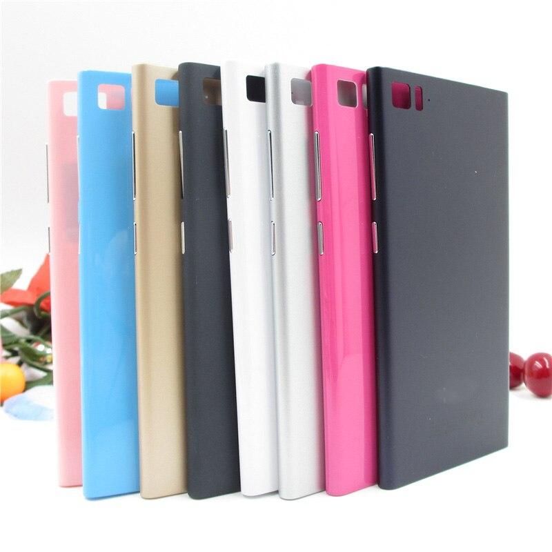 Mobile Phone Housings For Xiaomi Mi3 Mi 3 Housing Battery Door Plastic Back  cover case For 0d2ef32b36