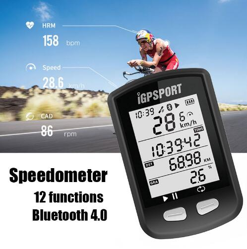 IGPSPORT IGS10 ANT + GPS Bluetooth Support Stopwatch Wireless Speedometer Bike Computer Dvd Waterproof Bicycle casing