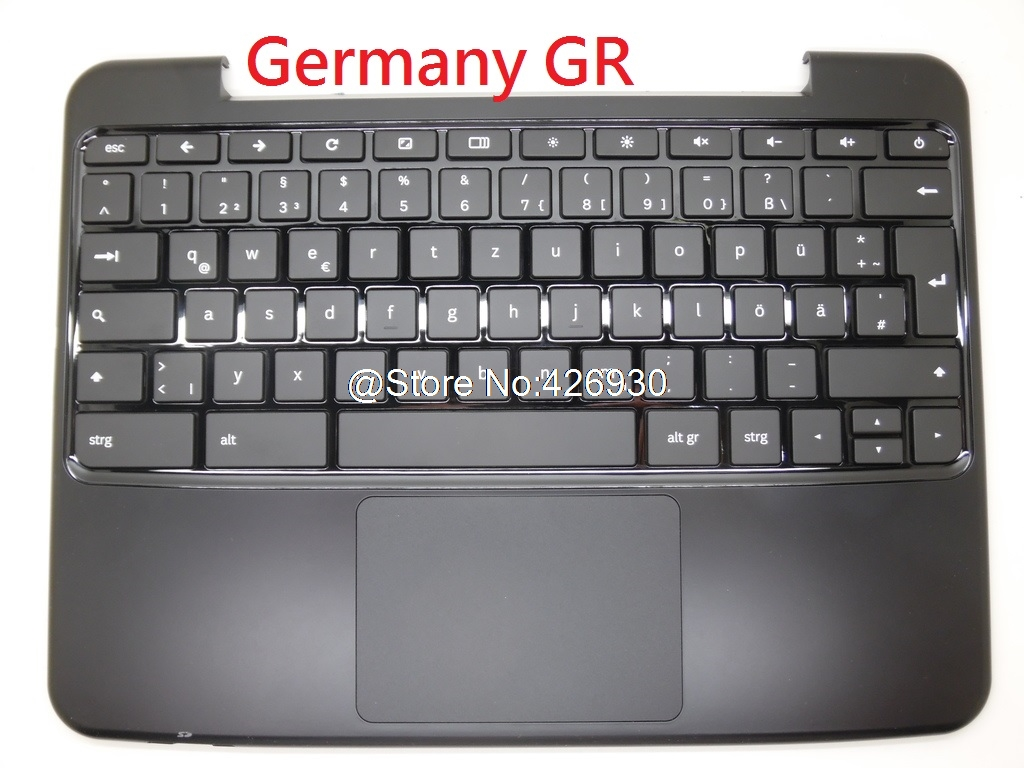 Laptop PalmRest/&Keyboard for Samsung XE500C21 United Kingdom UK BA75-03065A with Touchpad Speaker New