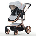 Brands AIMILE baby stroller 3 in 1 stroller for children car poussette buggy umbrella stroller