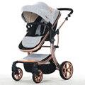 Marcas AIMILE poussette cochecito de bebé 3 en 1 cochecito para niños coche buggy cochecito del paraguas