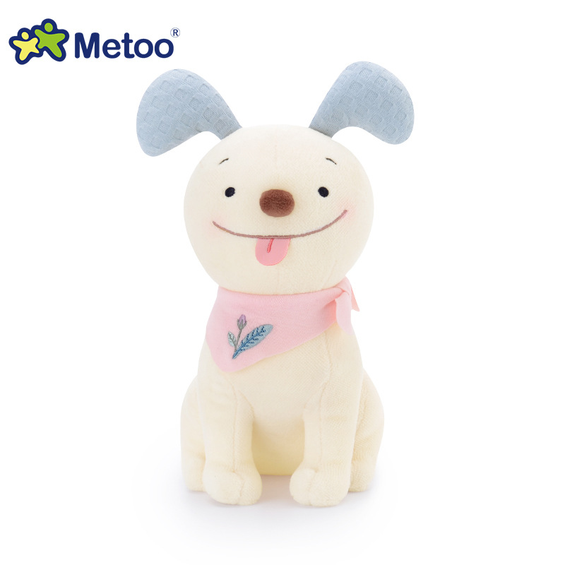 22cm Kawaii Plush Stuffed Animal Cartoon Kids Toys for Girls Children Baby Birthday Christmas Gift Dog Metoo Doll 13 inch kawaii plush soft stuffed animals baby kids toys for girls children birthday christmas gift angela rabbit metoo doll