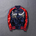 Chinese embroidery jacket winter spring men women fashion hiphop coat street male female military flight suit jacket X44