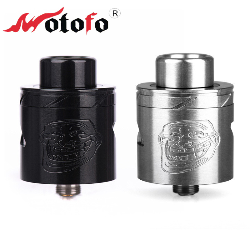 WOTOFO THE TROLL V2 RDA 25mm Atomizer 2ml Drip Box Dripka Vape E Cigarette Tank Vaporizer