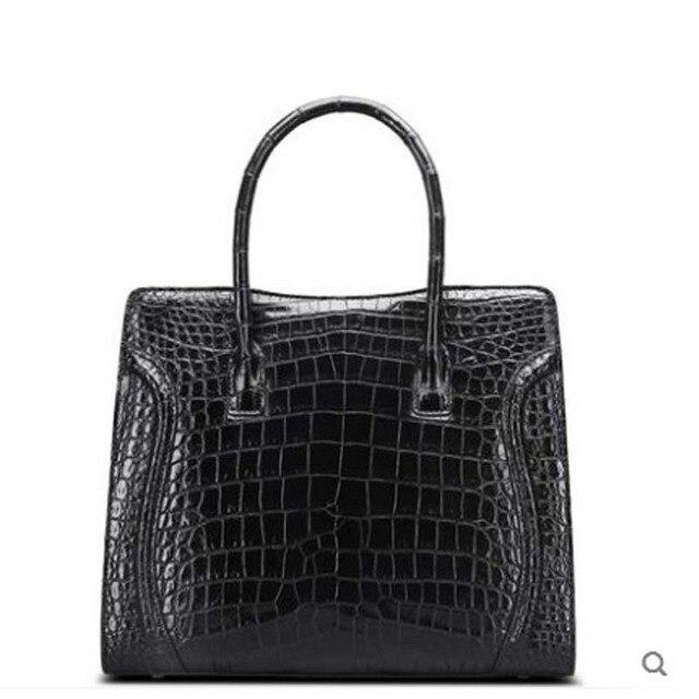 Cestbeau Crocodile Skin Handbag Belly
