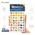 Upslon 2017 ios 9.1 Emoji Emoticons Adesivos Etiqueta MAIS de 1300 adesivos Incluem todos os emoticons IOS9.1 embutido expressão