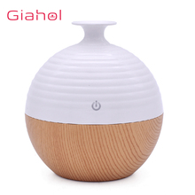 купить 130ml Wood Grain Ultrasonic Air Humidifier Essential Oil Diffuser Aromatherapy Electric Aroma Diffuser Mist Maker for for Room дешево
