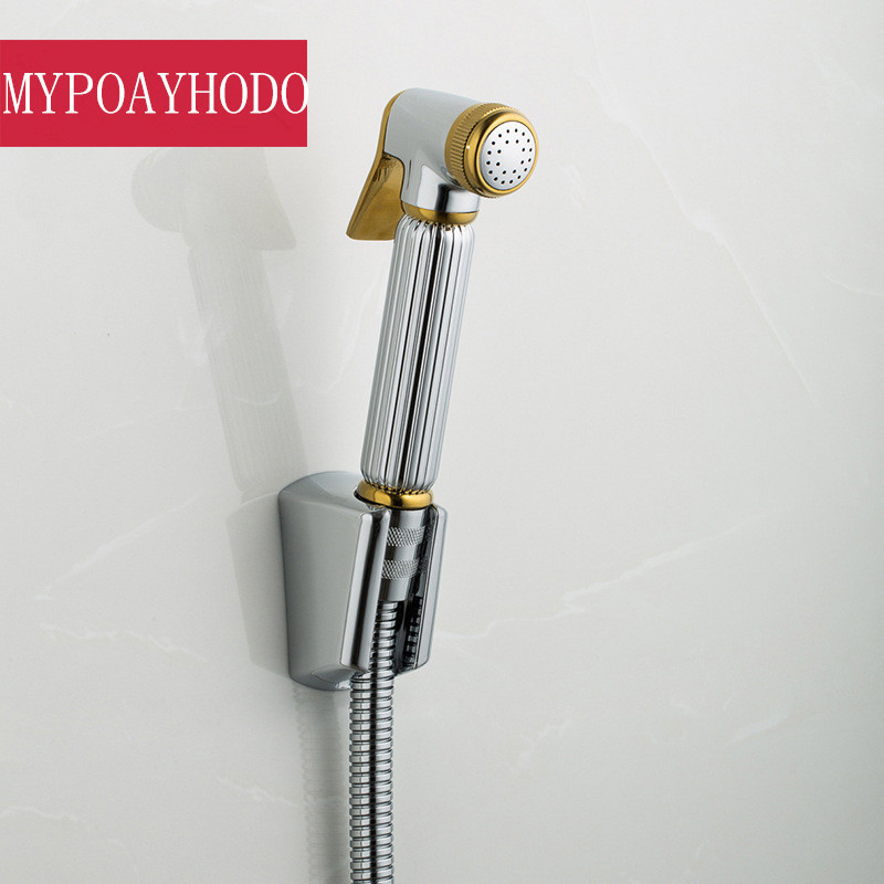Bidet Set Shower Clean Body Woman Washer Spray Gun Head Vagina Flushing Toilet Bottom Vaginal Anal Implement Flower Is Aspersed Bidets & Bidet Parts Bathroom Fixtures