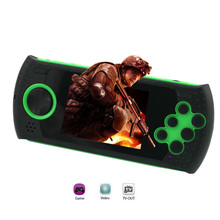 Фотография New Portable 3 Inch 16 Bit Handheld Game Console Players Gaming Consoles Build In 100 Classic Games MP3 MP4 Game Player