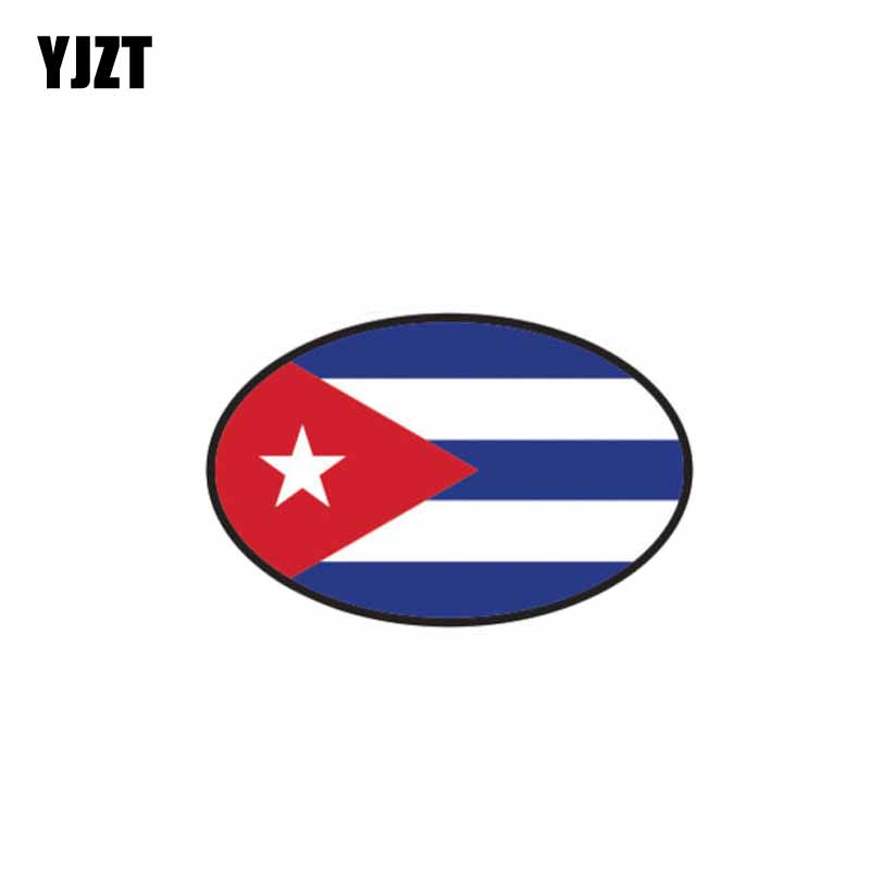 Detail Feedback Questions About Yjzt 11 8cm 7 5cm Personality Accessories Cuba Country Code Car Sticker Decorate Decal 6 0479 On Aliexpress Alibaba