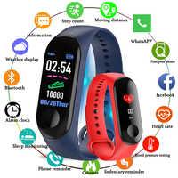 Kivbwy Bluetooth sport smart armband blutdruck herz rate band wasserdichte fitness M3 smart band fitness tracker pedometer