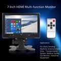 7 дюймов TFT LCD Яркий Цвет Автомобиля Монитор Заднего вида Интерфейс HDMI AV VGA Авто Заднего Вида Автомобиля Обратный Монитор Парковка помощь