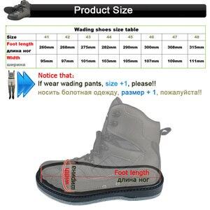 Image 4 - Botas de pesca con mosca para hombre y mujer, pantalones y zapatos de pesca con suela de goma, traje impermeable, mono al aire libre, ropa de trabajo aguas arriba DXR1