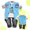 Anlencool Бесплатная доставка бренд Детские костюм мальчиков спортивные солнцезащитные dress одежда для новорожденных мальчика комплект одежды baby boy одежда наборы