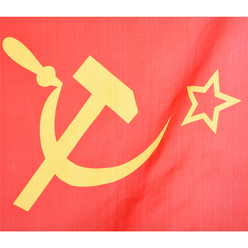 3x5 Ft Red Revolution Unione delle Repubbliche Socialiste Sovietiche Super-Poly Indoor Outdoor URSS BANDIERA Paese Russo Banner Home Decor