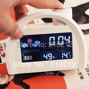 40 pcs Multifunction LED Digital Weather Forecast Station Alarm Clock