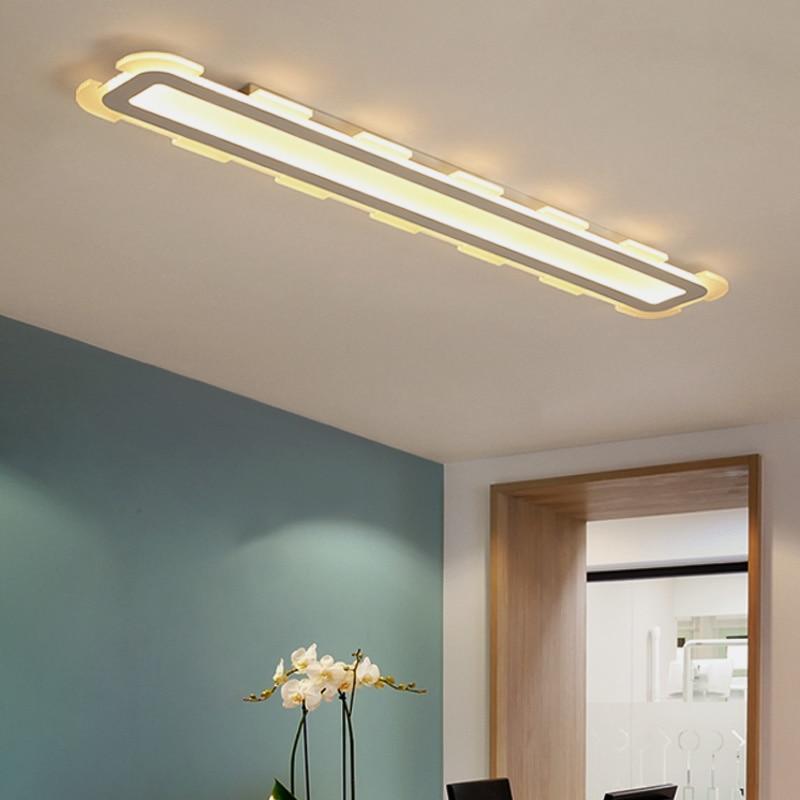 Moderne Rechteck LED Kronleuchter hohe helligkeit glanz led ...
